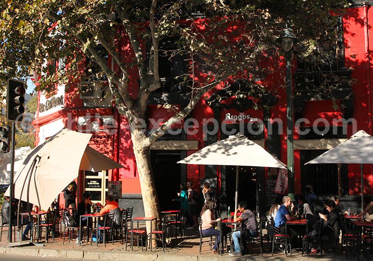 Restaurants de Bellavista, Santiago de Chile