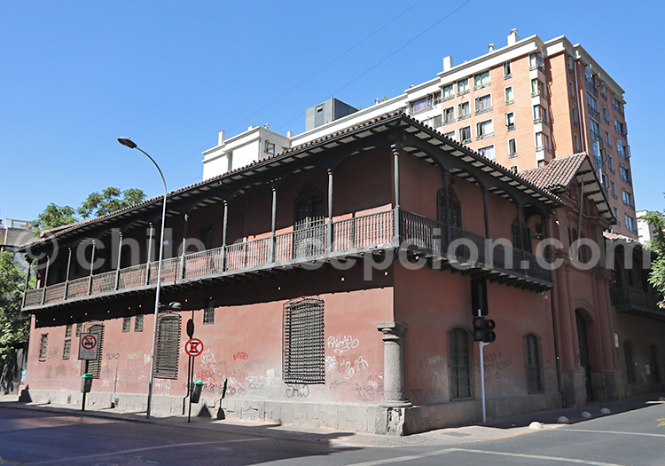Casa Manso de Velasco, Centre Santiago du Chili avec Chile Excepción