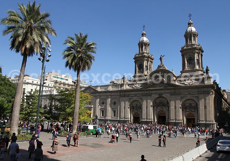 Centre hisotrique et civique, Santiago de Chile