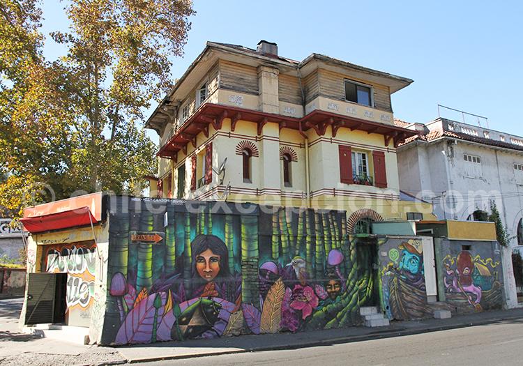 Les jolies rues de Bellavista, Santiago de Chile