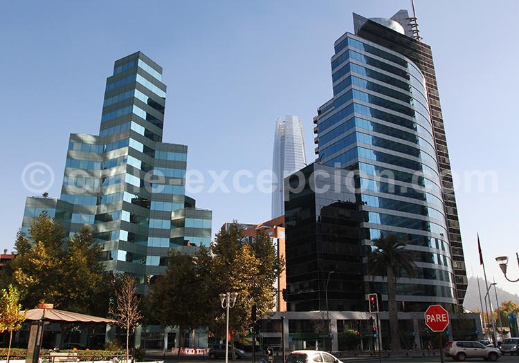 Commune de Las Condes, El Golf, Santiago de Chile