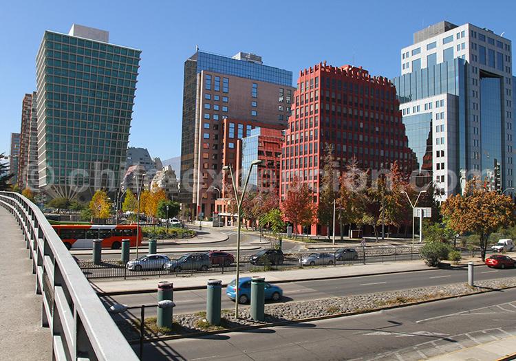 Métro Los Militares, Las Condes, Santiago de Chile