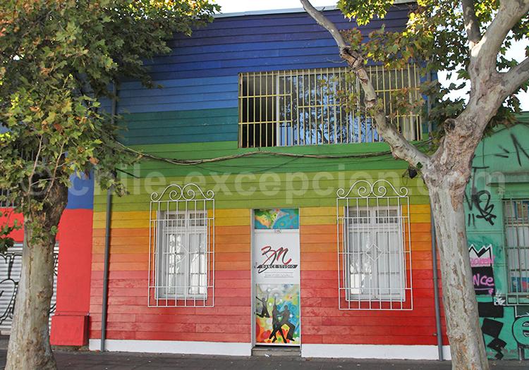 Les meilleurs quartiers à visiter de Santiago du Chili