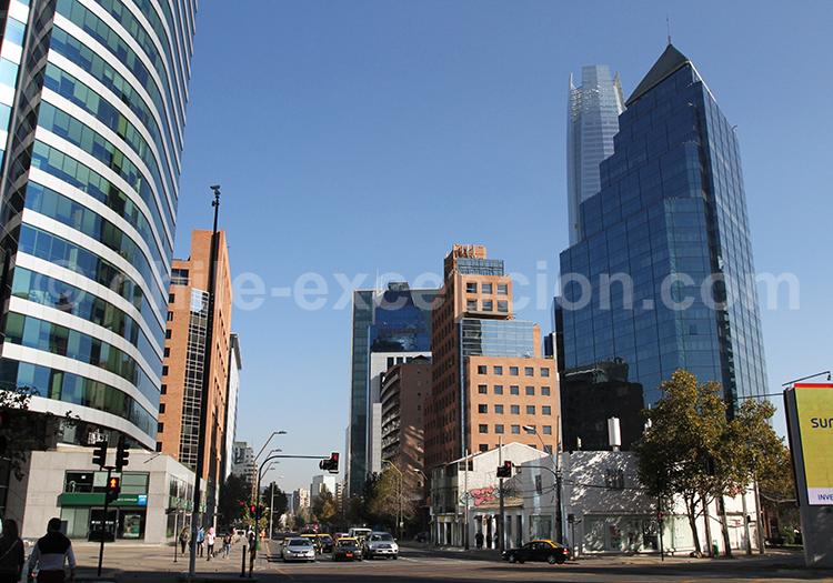 Barrio El Golf, Santiago de Chile