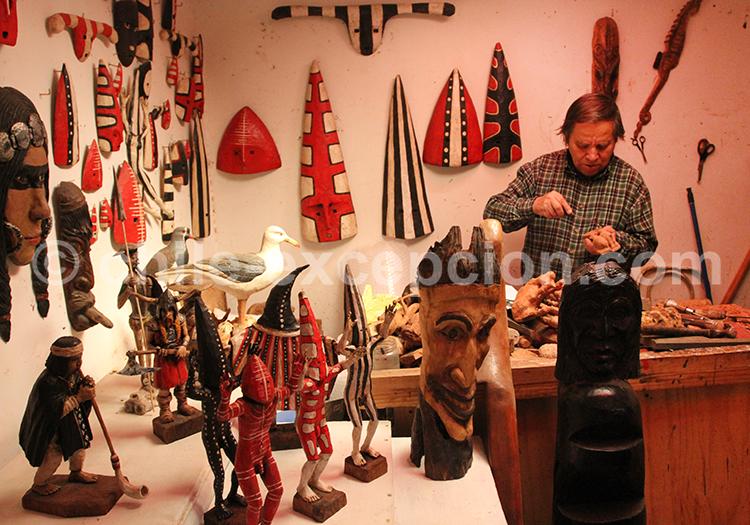 Culture Selknam, Pueblito Los Dominicos, Chili