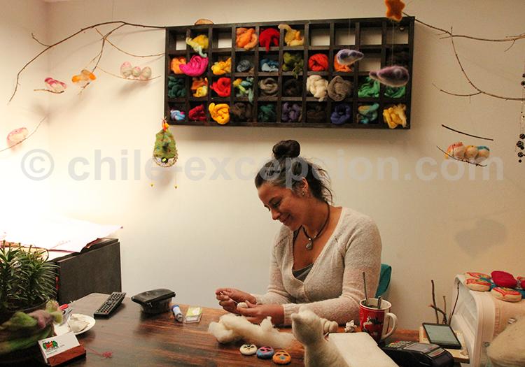 Marché artisanal de Santiago du Chili