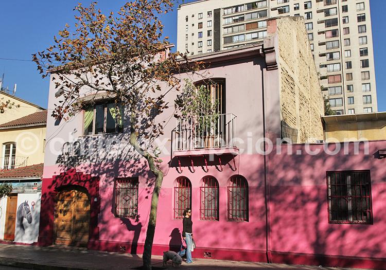 Découvrir Bellavista, Santiago de Chile