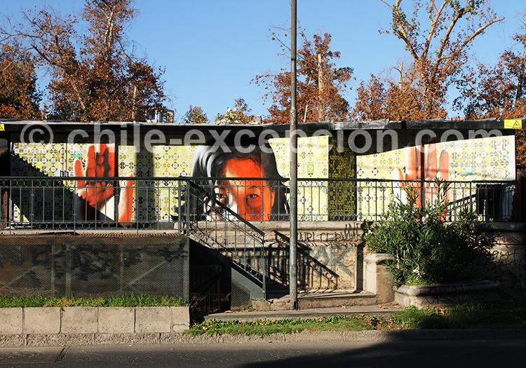Visite guidée de Bellavista, Santiago de Chile