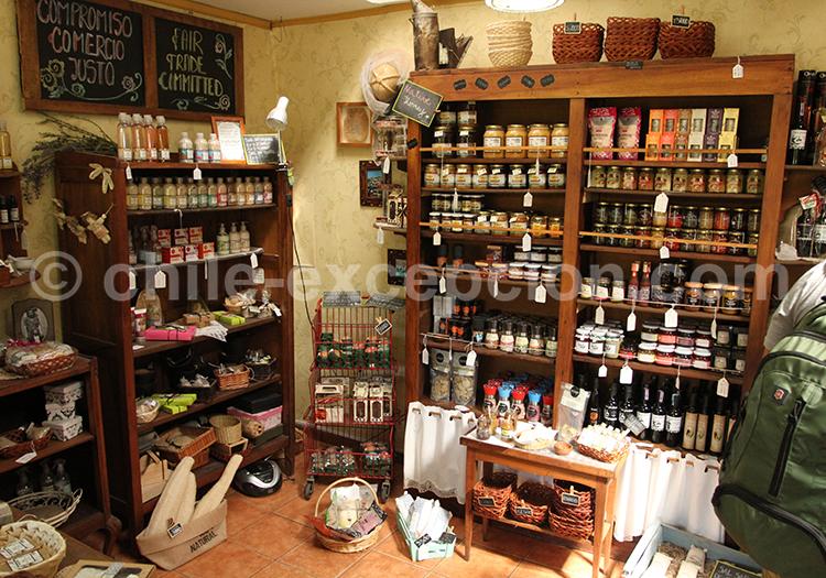 Produits gastronomiques locaux du Chili
