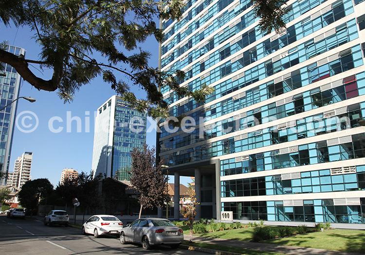 Las Condes, quartier de Santiago
