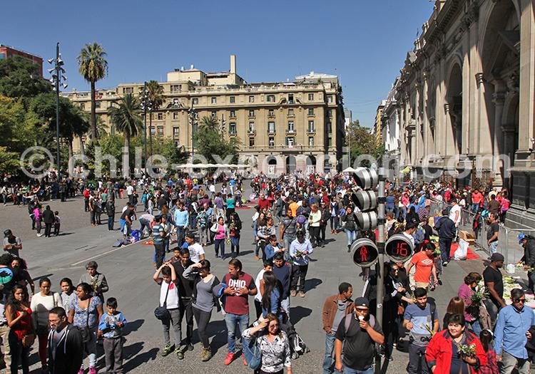 Connaître le centre historique et civique, Santiago de Chile