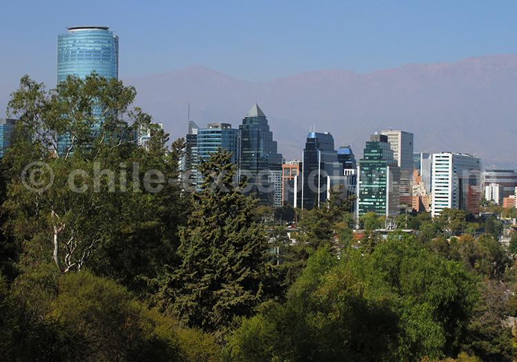 Visiter Santiago de Chile, el Golf