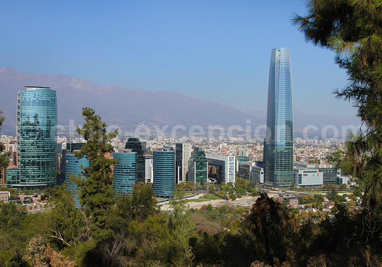 El Golf, quartier moderne de Santiago de Chile