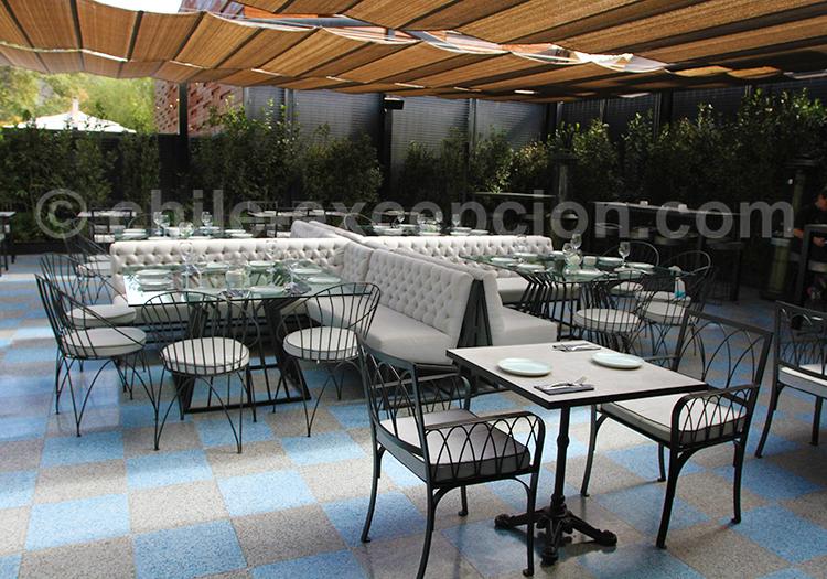 Où mangerà Vitacura, Santiago de Chile