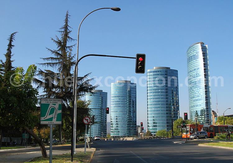 Bureaux du quartier El Golf, Santiago de Chile