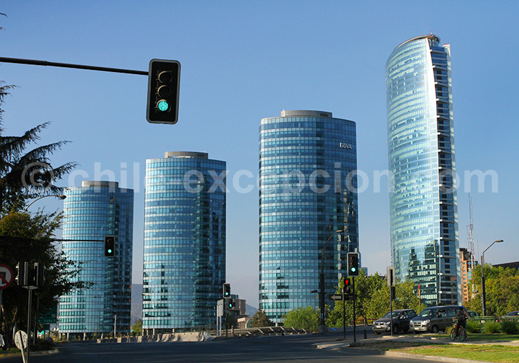 El Golf, quartier des affaires de Santiago de Chile