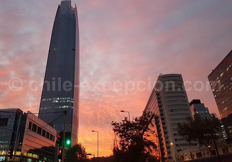 Quartier El Golf, Las Condes, Santiago de Chile