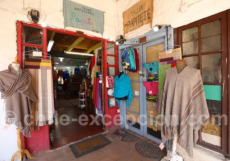 Boutique de tissus artisanaux, Los Dominicos