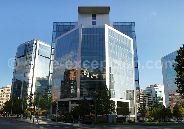 Immeuble de Las Condes, Santiago de Chile