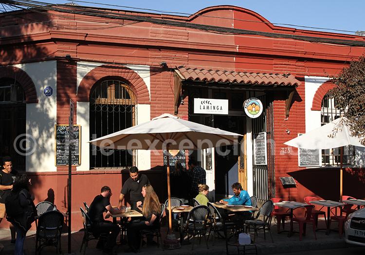 Laminga, Bellavista, Santiago de Chile