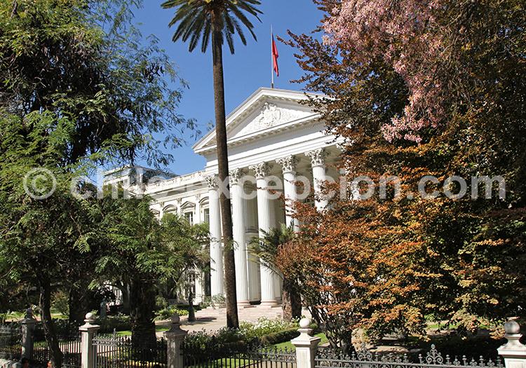 Se balader dans le centre historique et civique, Santiago de Chile
