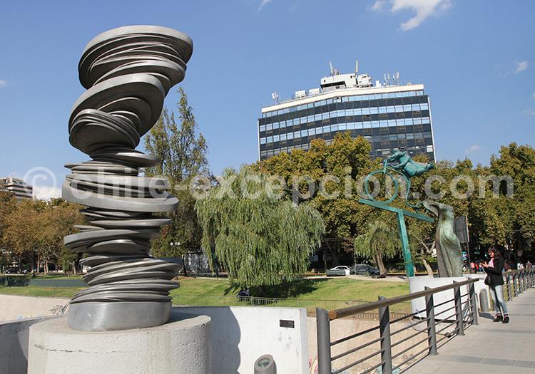 Sculpture Park Museum, Providencia, Santiago de Chile