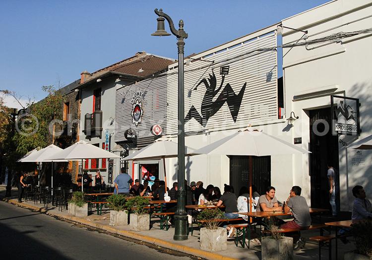 Où sortir le soir à Bellavista, Santiago de Chile