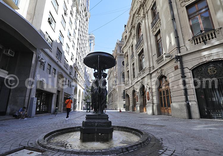 Se promener dans le centre historique et civique, Santiago de Chile