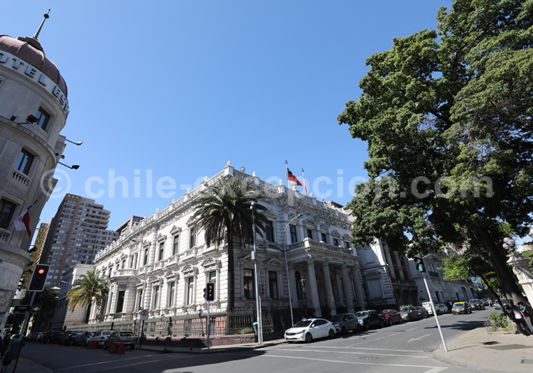 Centre historique et civique, visite guidée de Santiago