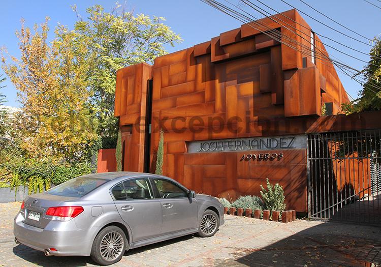 Quartier chic de Vitacura, Santiago de Chile