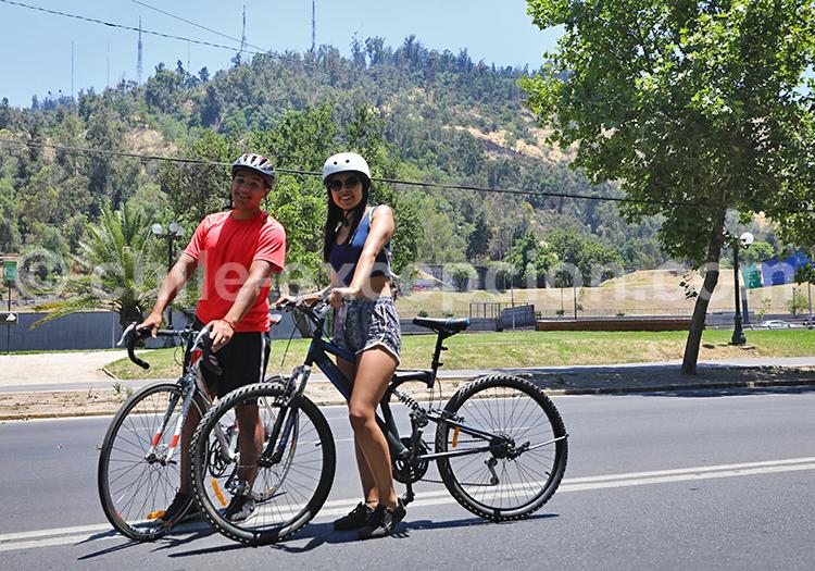 Visiter Providencia en vélo, Santiago de Chile