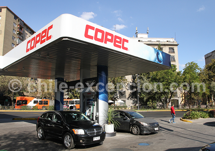 Copec de Providencia, Santiago de Chile