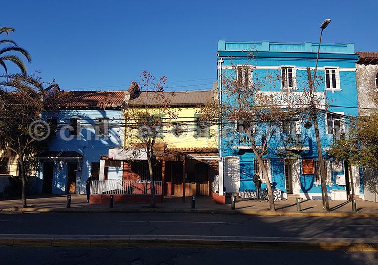 Quartier de Bellavista, Santiago du Chili