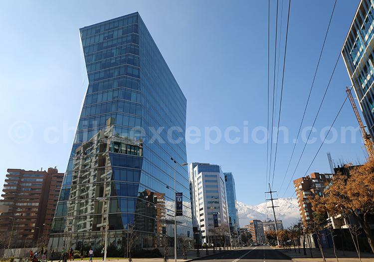 Edificios en Las Condes, Apoquindo, Santiago