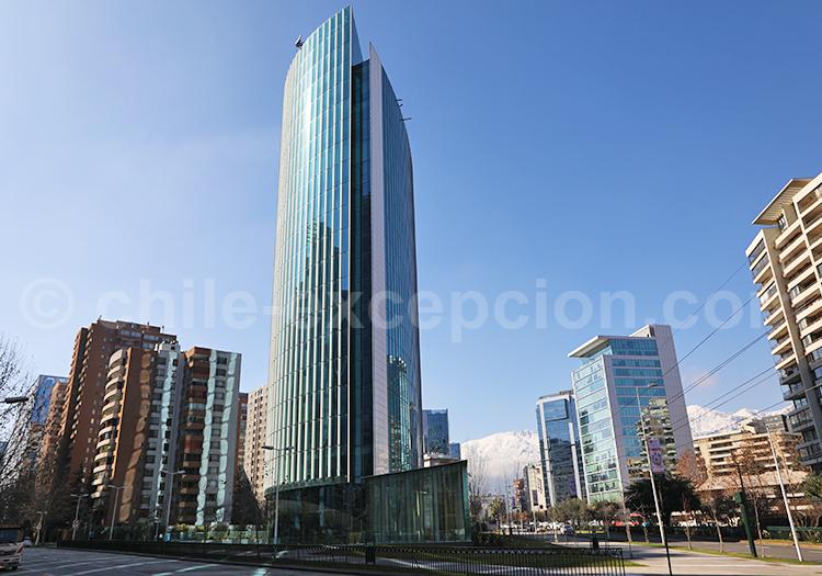 Gratte-ciel, Las Condes, Santiago de Chile