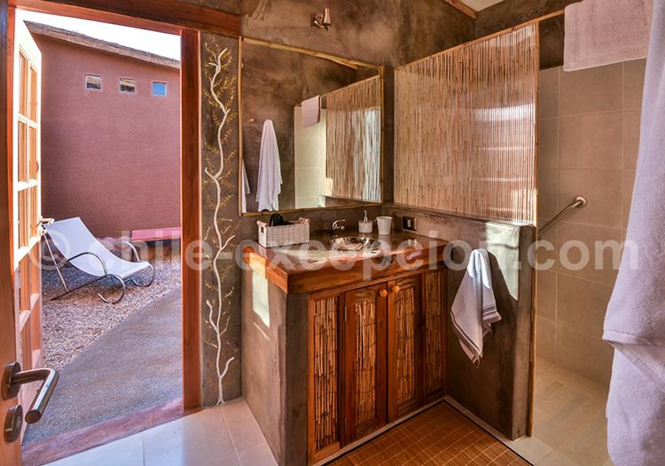 Casita la Brea, Salle de bain