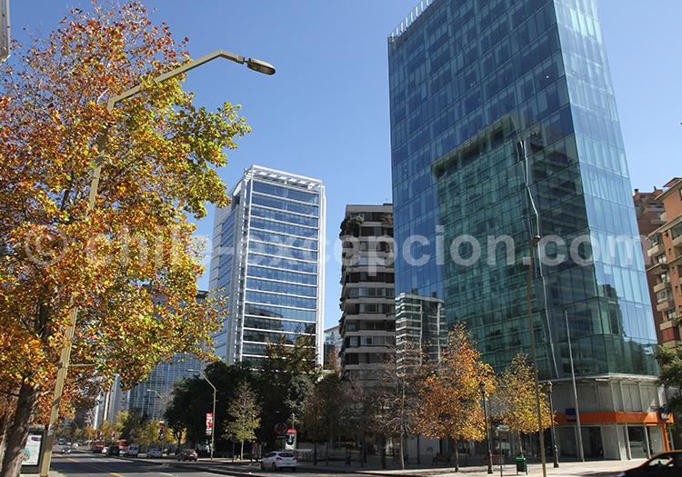 Quartier El Golf, Santiago du Chili