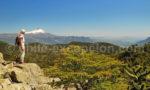 Vue sur la Patagonie des Lacs