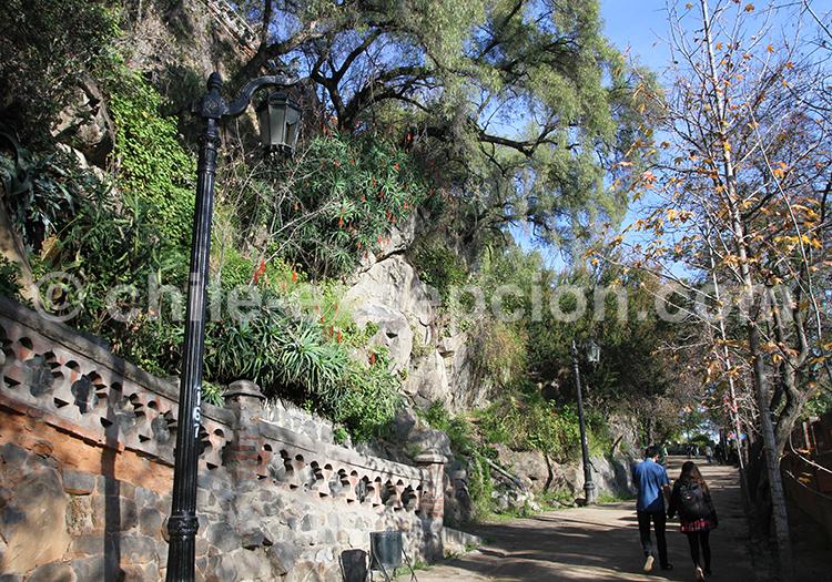 Cerro Santa Lucia, Santiago du Chili