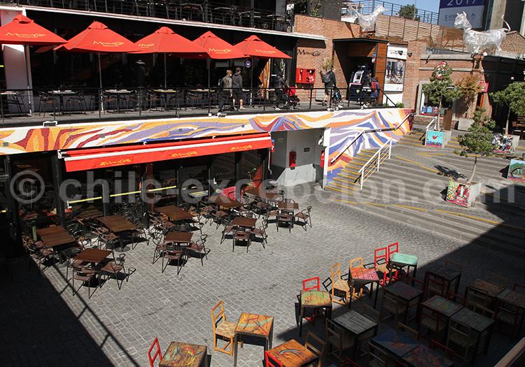 Restaurants du Patio de Bellavista, Santiago de Chile