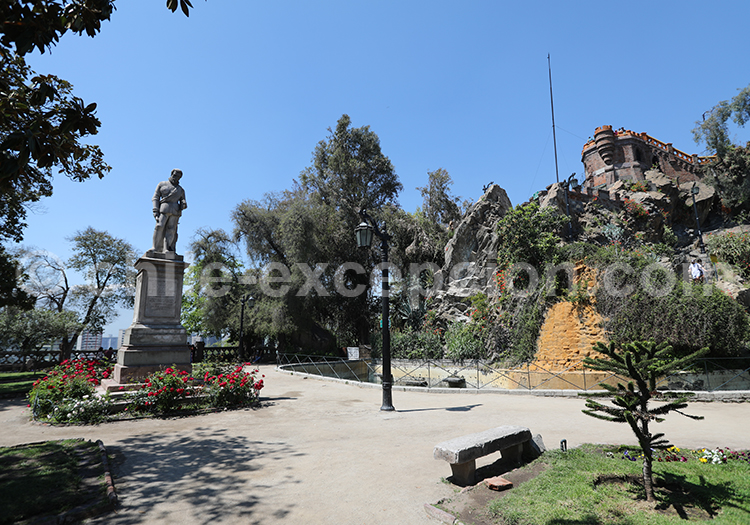 Endroits à connaître, Cerro Santa Lucia, Santiago de Chile