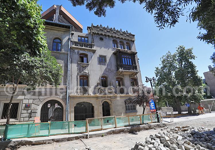 Quartier historique, Santiago de Chile