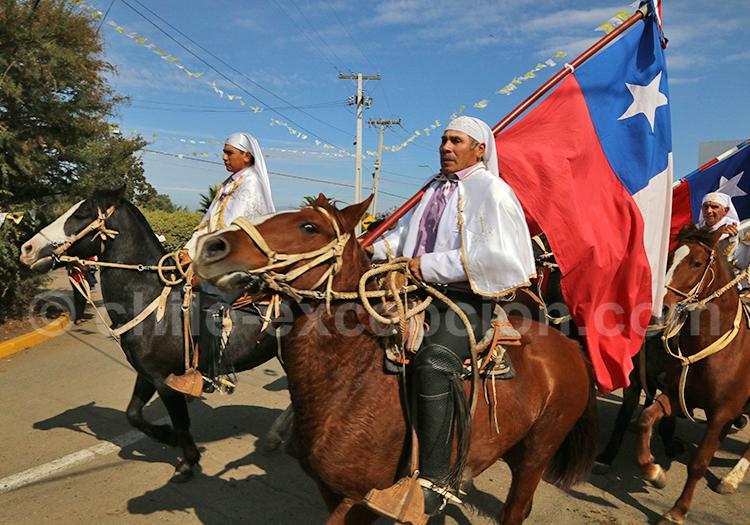Événement culturel au Chili