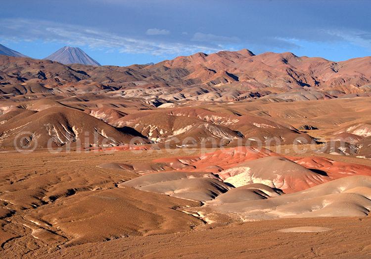 Volcan Licancabur, lipez Bolivie Chili