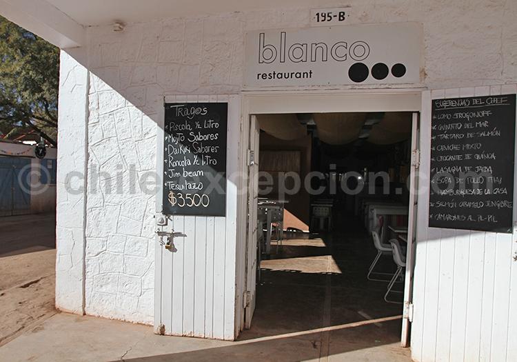 Blanco, San Pedro de Atacama