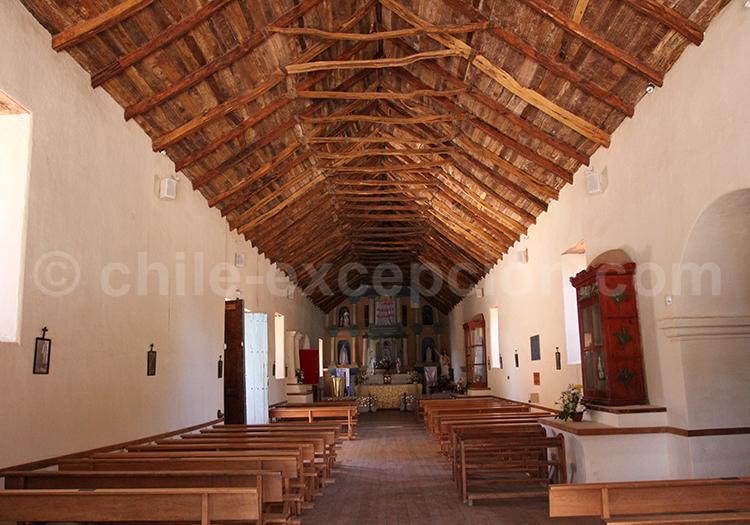 Visite guidée de l'église de San Pedro de Atacama, Chili