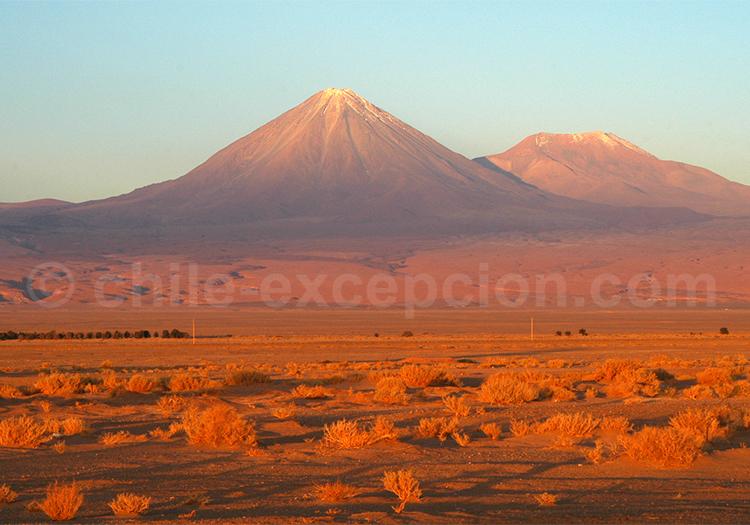 Voyage autotour, Volcan Licancabur, Chili