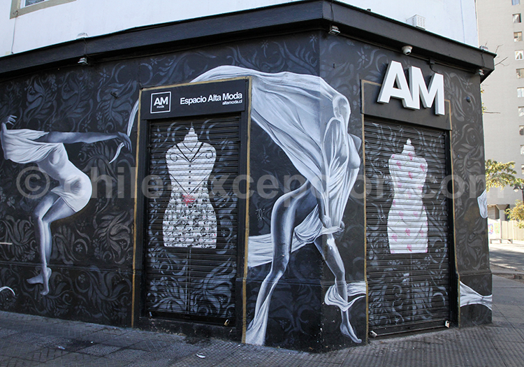 Arts muraux de Santiago