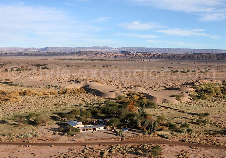 Survol d'Atacama en montgolfière