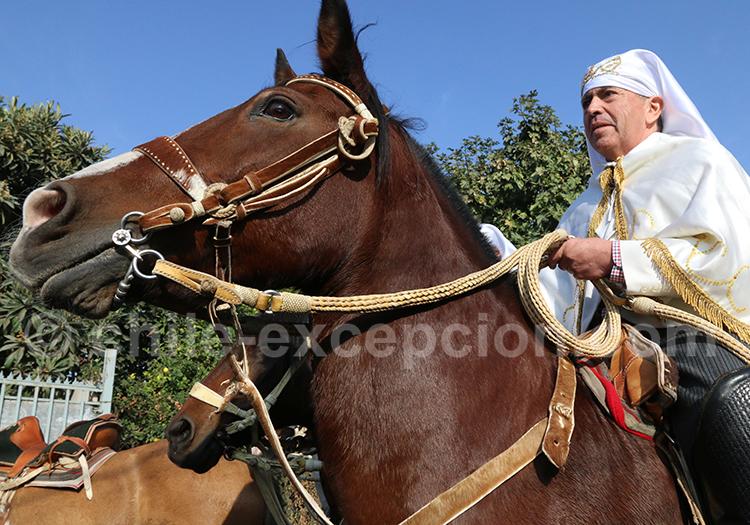 Fiesta de Cuasimodo, séjour au Chili